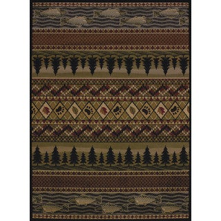 Harmony Elodie Lodge Accent Rug (1'10 x 3')