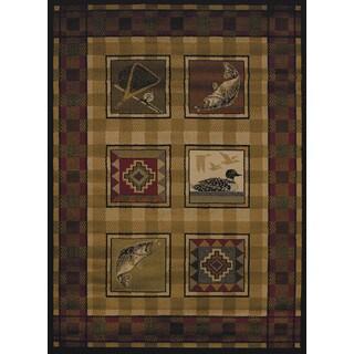 Harmony Kat Lodge Accent Rug (1'10 x 3')