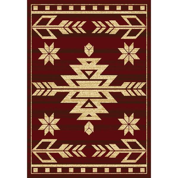Pine Canopy Bighorn Southwest Runner Rug (1'10 x 7'2) 16207498