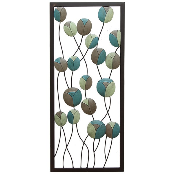 Stratton home decor mod flowers panel i wall decor for Good deals on home decor