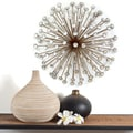 Stratton Home Decor Bronze Acrylic Burst Wall Decor