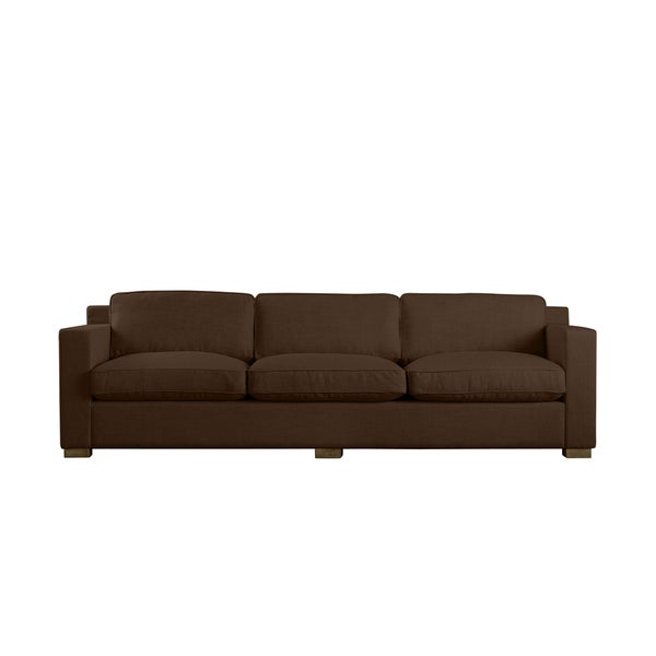 Chocolate Linen Bryant Sofa