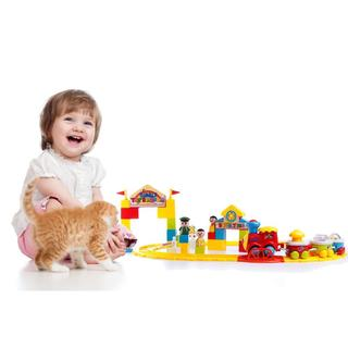 Dimple Battery Operated Baby Train Set DC11861