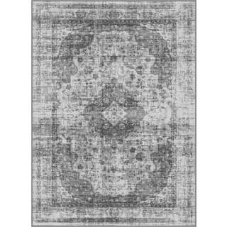 Alise Eternity Silver Area Rug (5'3 x 7'3)
