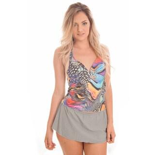 Dippin' Daisy's Aqua Tankini with Skirt