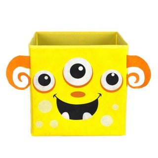 Nuby Yellow Monster Folding Storage Bin