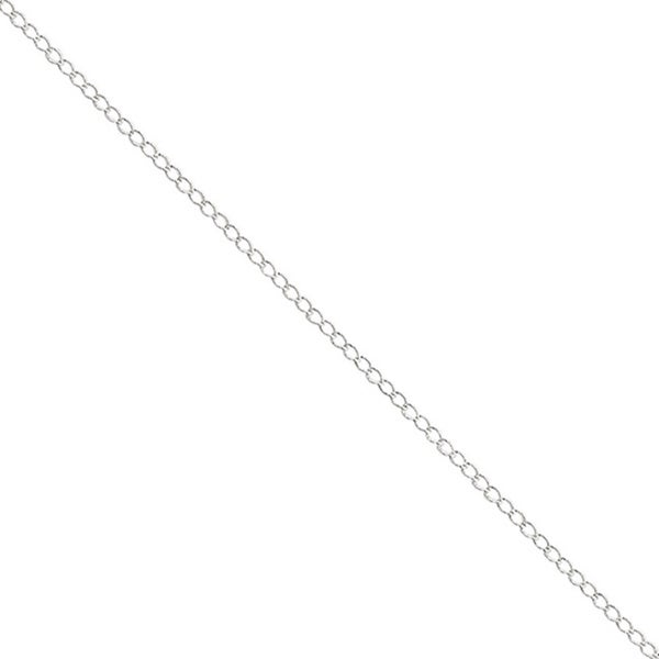 Sterling Silver 18-inch Curb Chain
