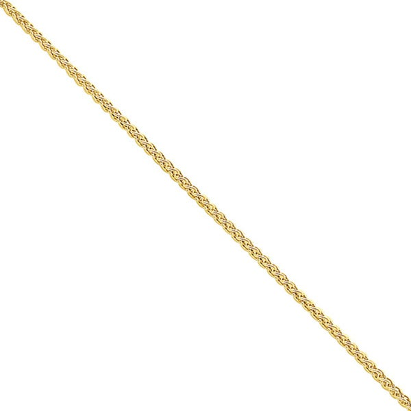 Goldplated Sterling Silver 1.5mm 18-inch Spiga Chain
