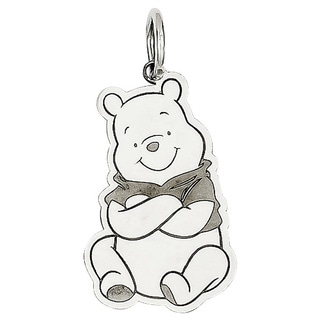 Sterling Silver Disney Winnie the Pooh Charm