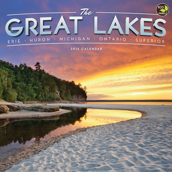 2016 Great Lakes Wall Calendar