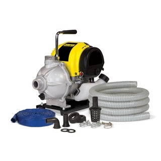Champion 1-inch Water Pump with Hose Kit