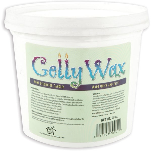 Gelly Candle Wax 25ozClear