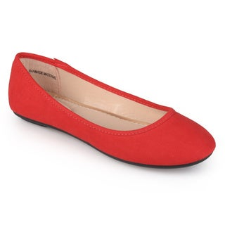 Journee Collection Women's 'Sage' Comfort Sole Round Toe Ballet Flats