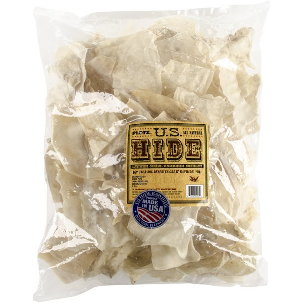 U.S. Hide Rawhide Chips 2lb Bag