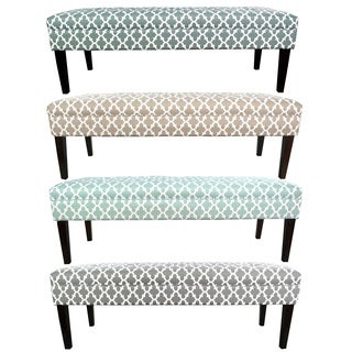 MJL Furniture Kaya Fulton 10-button Tufted Upholstered Long Bench