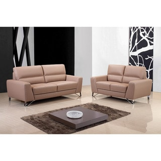 Aria Leather Sofa Set