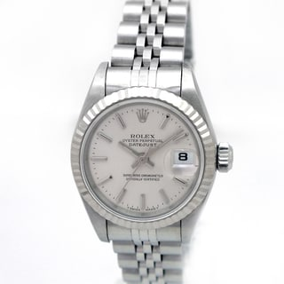 Pre-owned Rolex Women's Oyster Perpetual Datejust Stainless Steel Watch