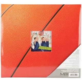 Sport & Hobby Post Bound Album 12inX12inBasketball