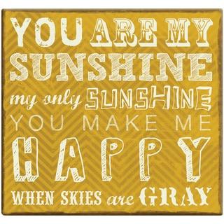 You Are My Sunshine Post Bound Scrapbook 12inX12in
