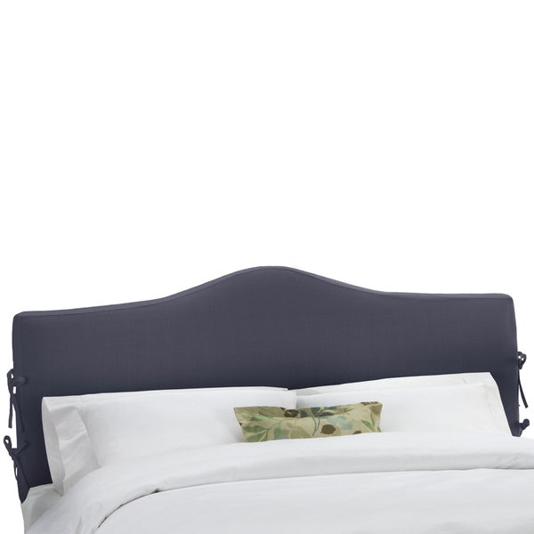 Skyline Furniture Twill Navy Slipcover Headboard