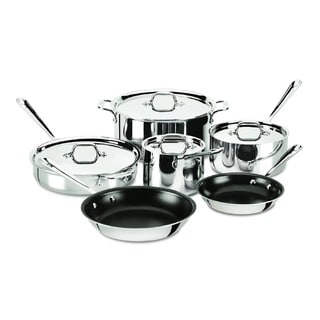 All-Clad Stainless Steel Nonstick 10-Piece Set