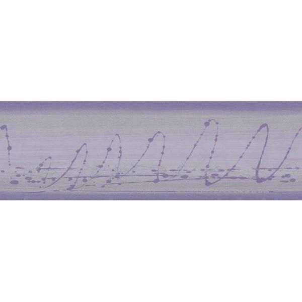 Lavender Doodle Wallpaper Border