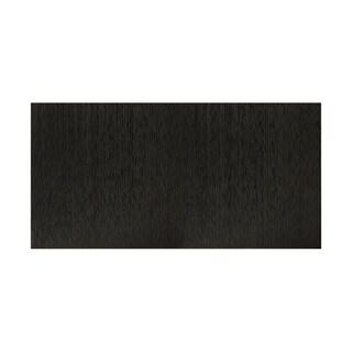 Fasade Vertical Ripple Black 4-foot x 8-foot Wall Panel