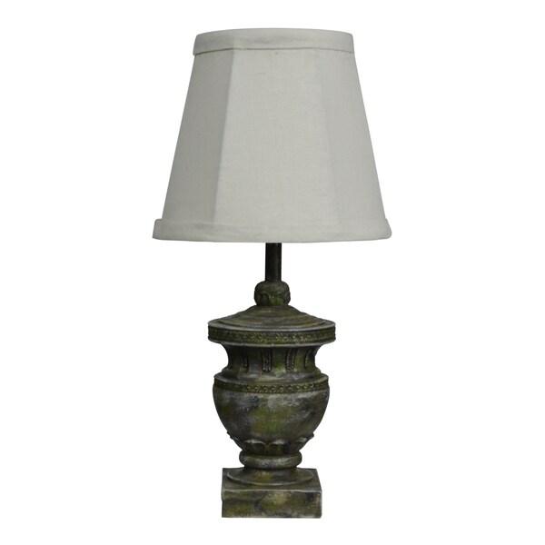 Capri Green Vase 12-inch Accent Lamp