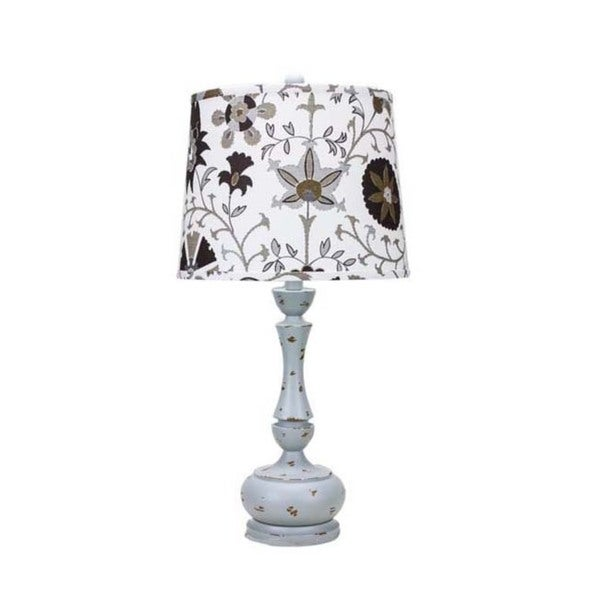 Genie Weathered Grey 26-inch Table Lamp