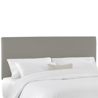 Skyline Furniture Duck Grey Upholstered Headboard