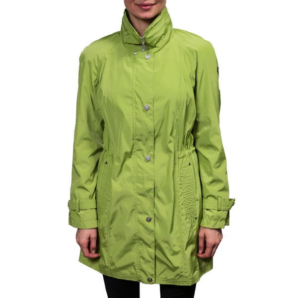 Hilary Radley Women's Green Anorak