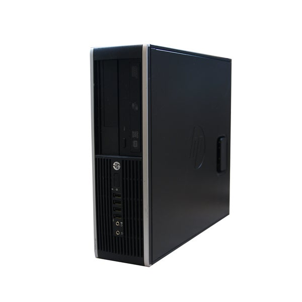 HP 6200 SFF 2.5GHz Intel Core i5 4GB RAM 500GB HDD Windows 7 Computer (Refurbished)