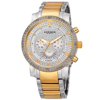 Akribos XXIV AKR900TTG Men's Bracelet Watch