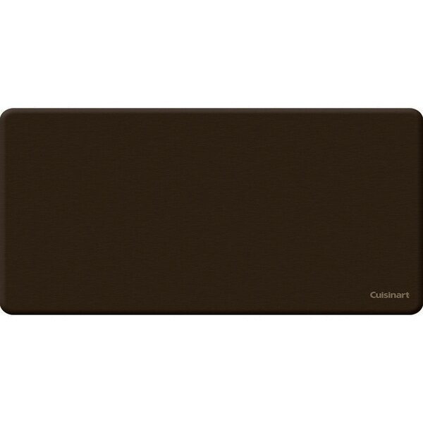 Cuisinart Anti-fatigue Solid Chocolate Kitchen Mat (20 x 38)