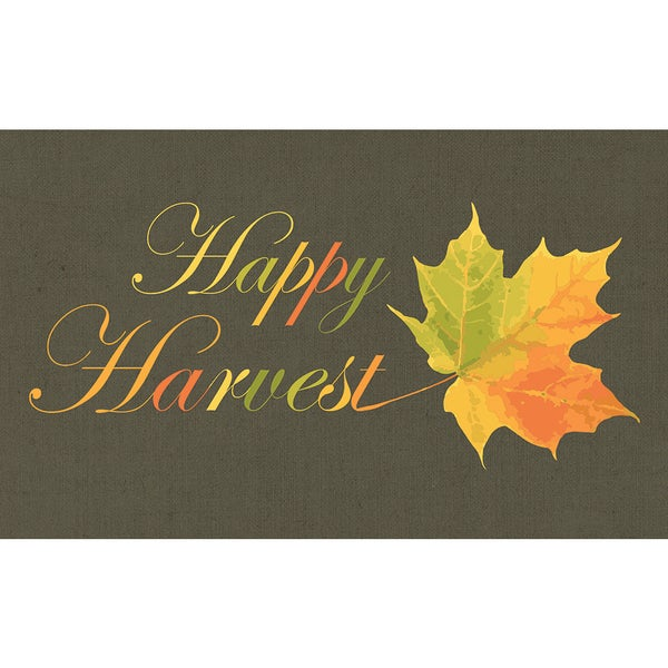 Polytop Happy Harvest Multi Door Mat (18 x 30)