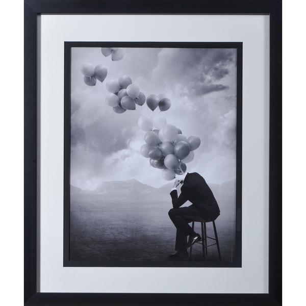 "Ingberg ""Think"" Framed Art Print"