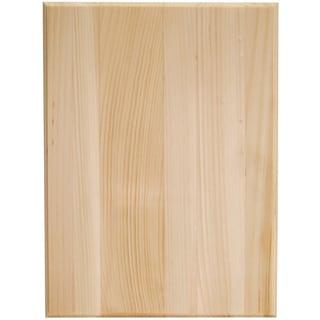 Pine Rectangle Plaque9inX12inX.63in