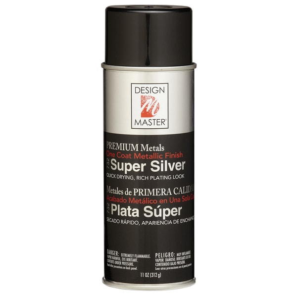 Colortool Metallic Spray Paint 12ozSuper Silver
