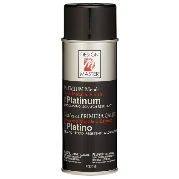 Colortool Metallic Spray Paint 12ozPlatinum