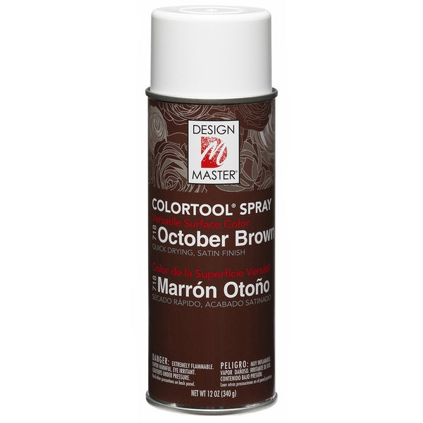 Colortool Spray Paint 12ozOctober Brown