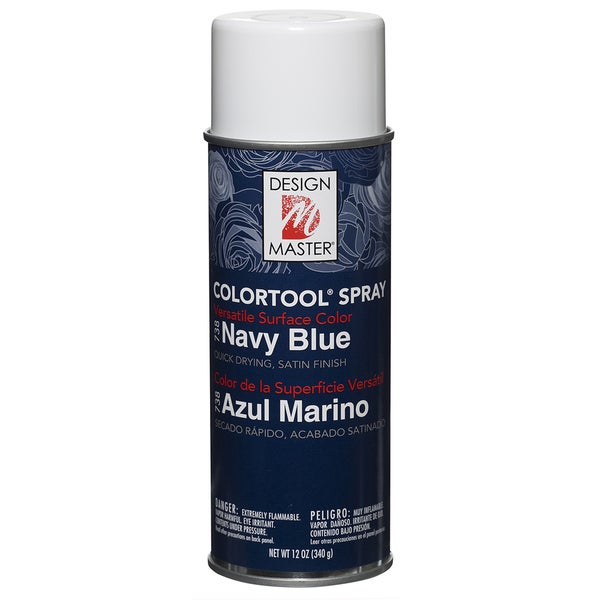 Colortool Spray Paint 12ozNavy Blue