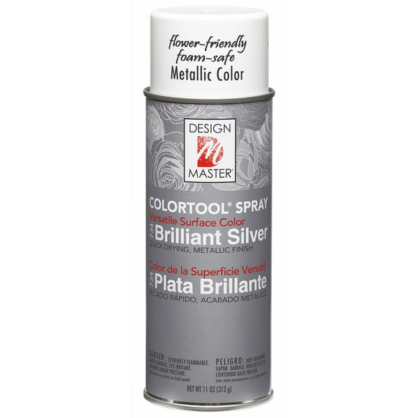 Colortool Metallic Spray Paint 12ozBrilliant Silver
