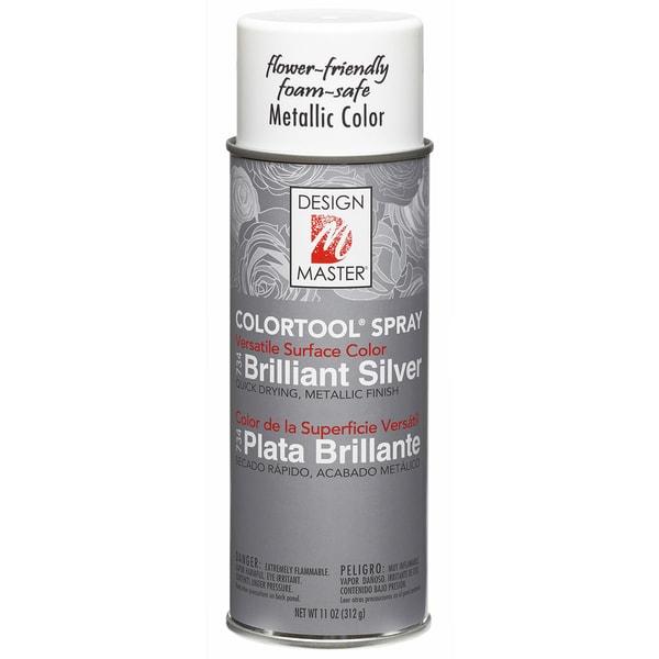 Colortool Metallic Spray Paint 12ozBrilliant Silver