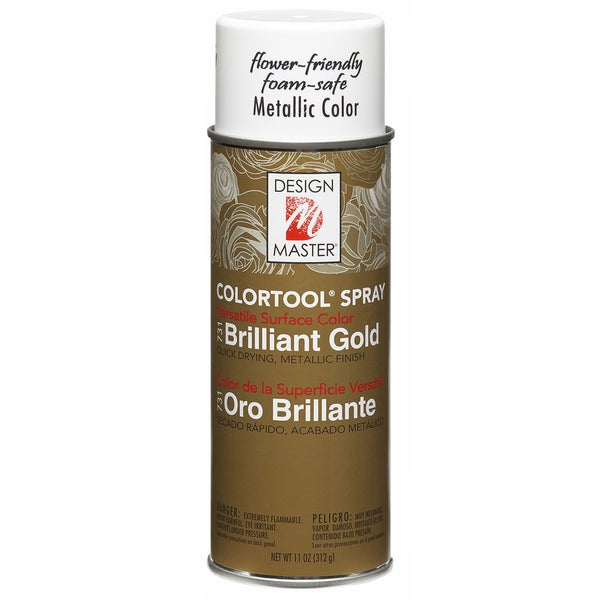Colortool Metallic Spray Paint 12ozBrilliant Gold