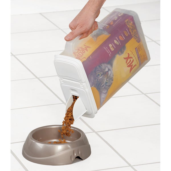 Buddeez 6qt inBagInin Pet Food Dispenser Holds Up To 6lbs
