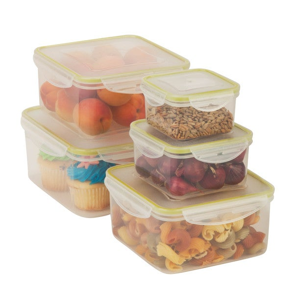 Snaplock Food Containers 10-piece Set