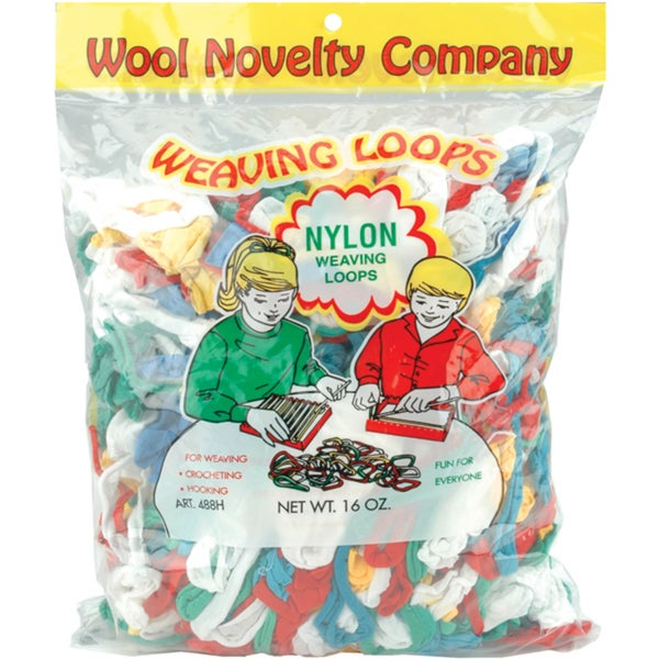 Nylon Weaving Loops 16ozAssorted
