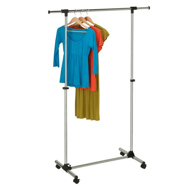 Chrome Adjustable Garment Rack