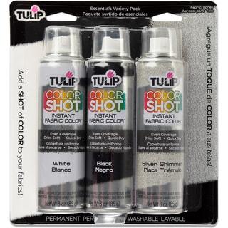 Tulip Color Shot Instant Fabric Color Spray 3/PkgEssential