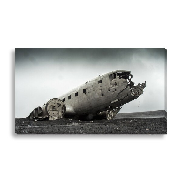 New Era Photography 'Abandoned Wreckage' Canvas Gallery Wrap